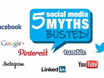 5 Mitos de las Redes Sociales