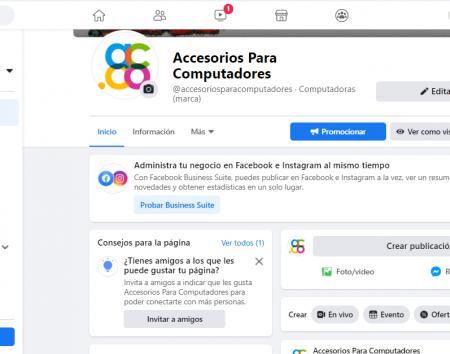 ¿Cómo crear en Facebook una página para vender?
